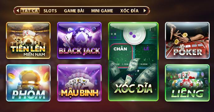 Tựa game có trên cổng V8club