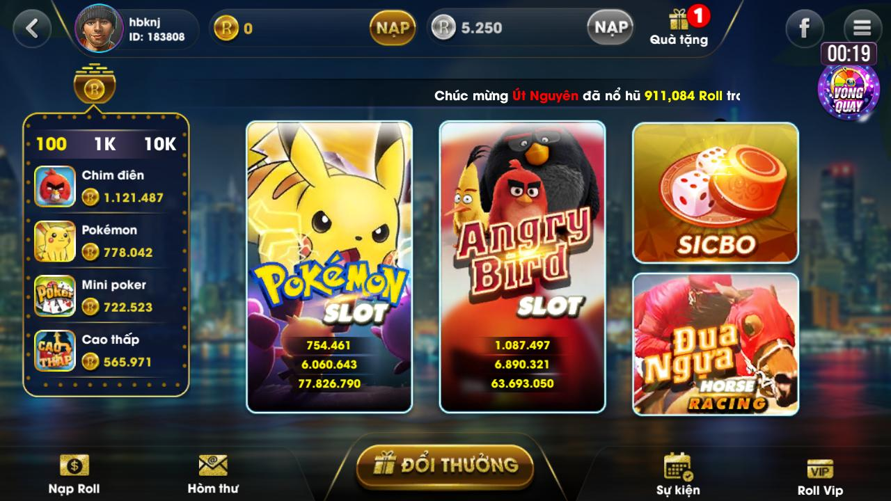 Cổng game Slot 999