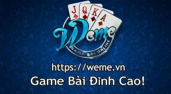 Weme - Cổng game đánh bài miễn phí