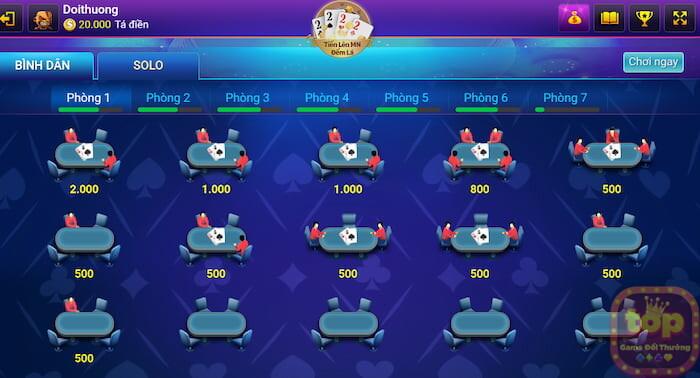 Bigfun - cổng game đánh bài tiến lên đếm lá siêu HOT 2021