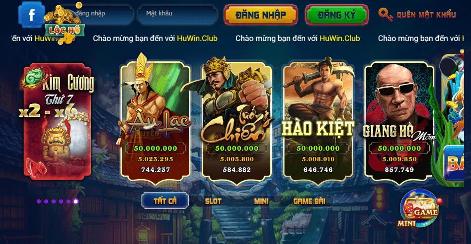 Đánh giá cổng game Huwin Club