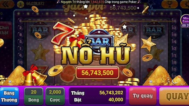 Jackpot trong slot game