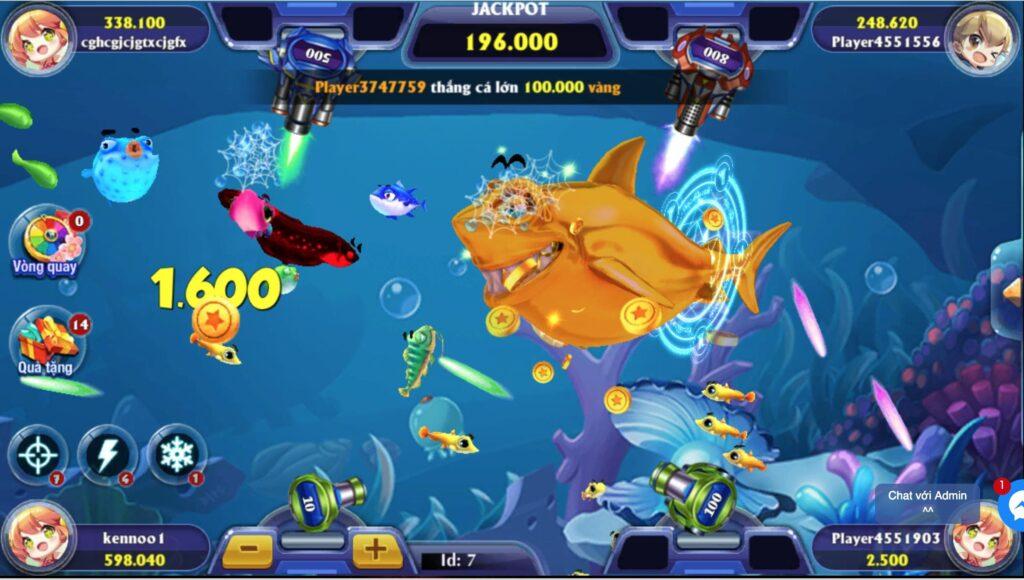 Bắn Cá 3D online