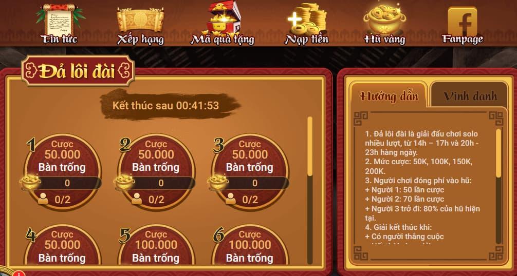 Giao diện Chắn Việt Nam