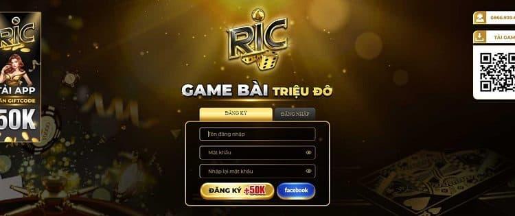Ric.win khai màn thị trường đổi thưởng