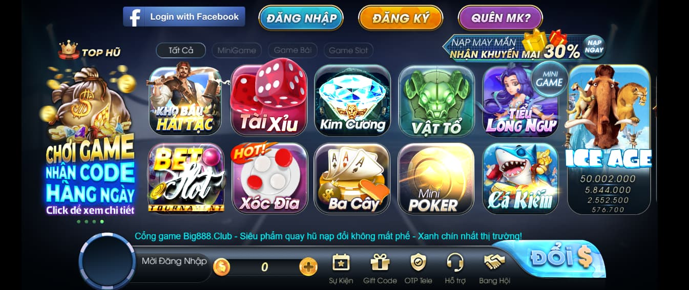 game bet club vin