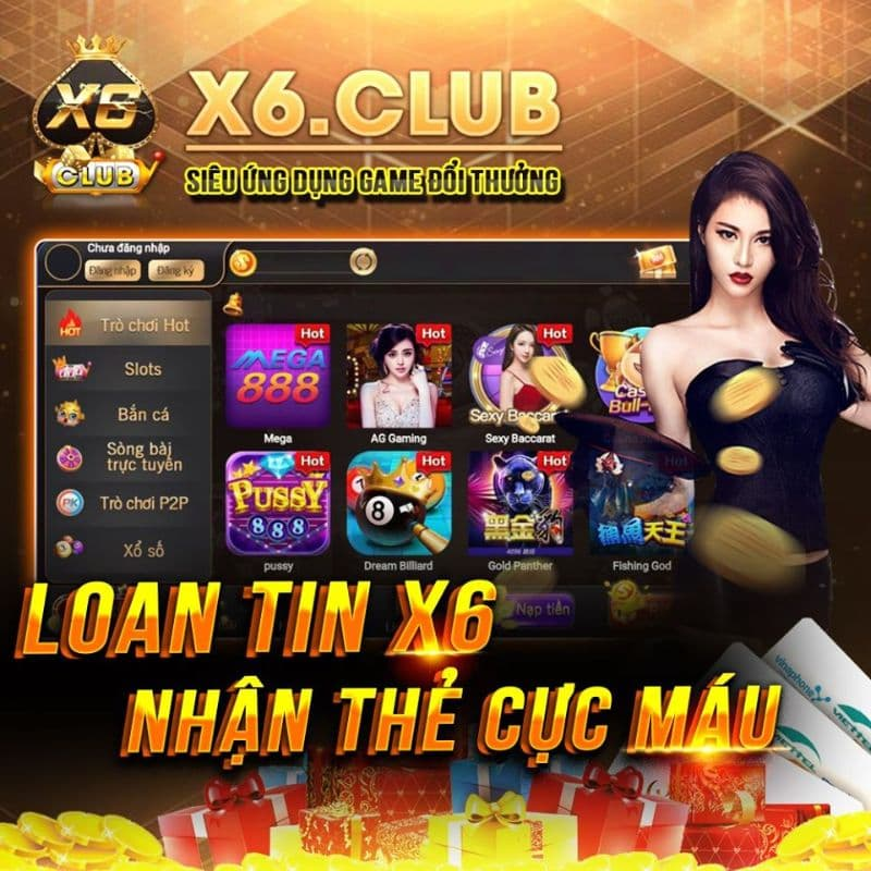 giftcode x6 club