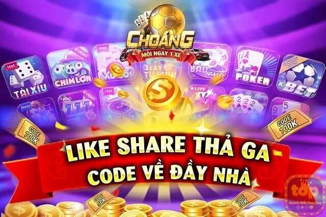 Giftcode Choáng Club