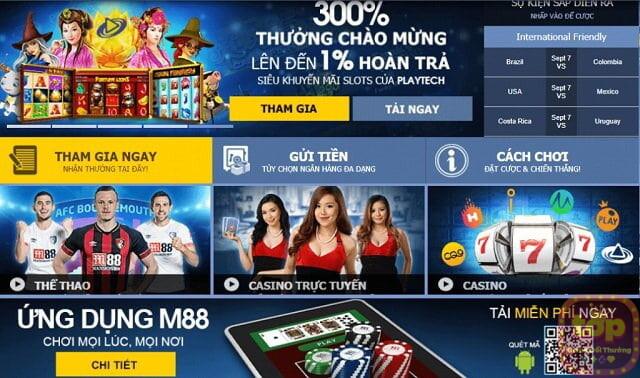 M88 - Nhà cái top 1 Việt Nam - Link vào m88 đăng ký mới nhất