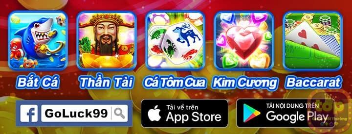 GoLuck99   Tải game GoLuck99 APK/Android/iOS - Nổ Hũ Săn 3 Tỷ
