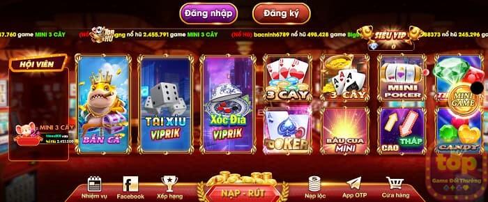 Tải Viprik Club   Game viprik.club APK/Android/iOS/PC 2021 - Cổng game Việt tại nước ngoài