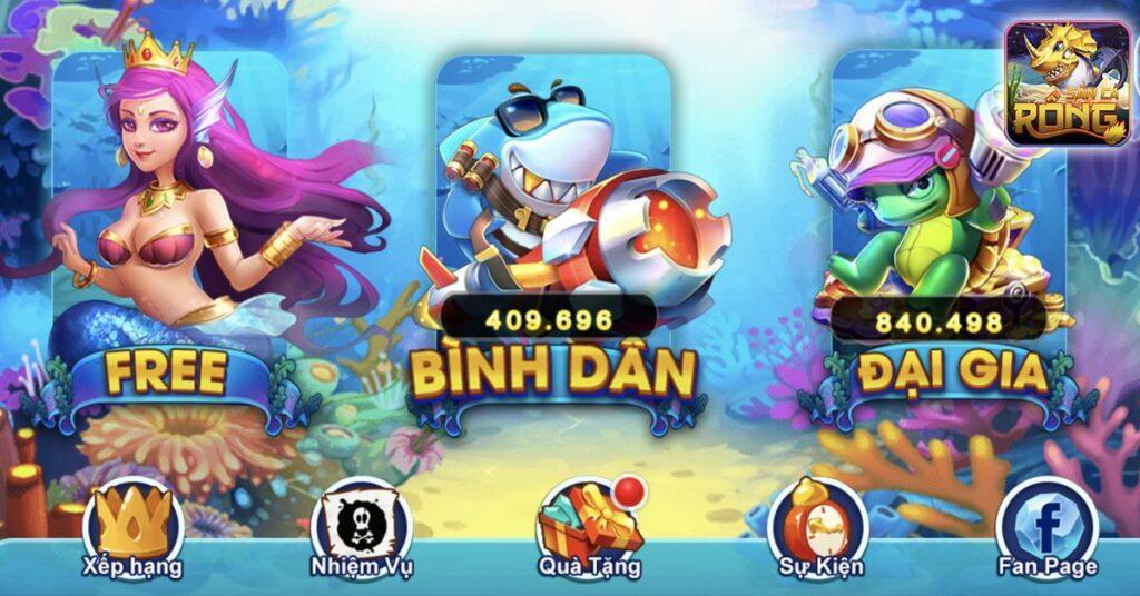 Săn Cá Rồng - Bắn cá online đổi thẻ